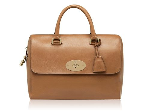 Mulberry - Del Rey in Deer Brown Grainy Print Leather. I want. I want. I want
