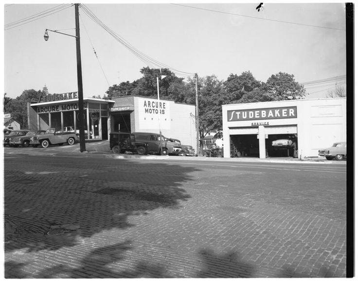 396 best vintage automobile dealerships images on for Griffith motors home pa