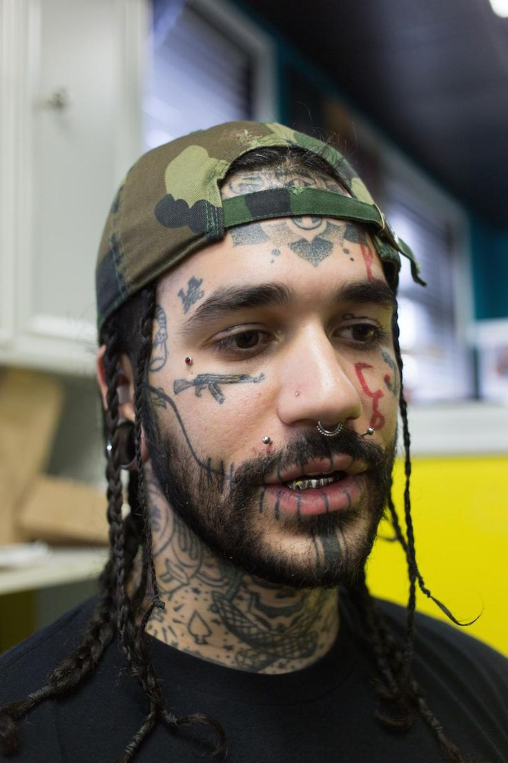 Cool Face Tattoos: People With Face Tats Explain Their Ink