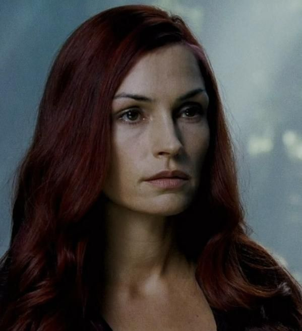 Famke Janssen played Jean Grey in five of the X-Men movies and most recently appeared at the end of X-Men: Days of Future Past. Description from mstarsnews.musictimes.com. I searched for this on bing.com/images