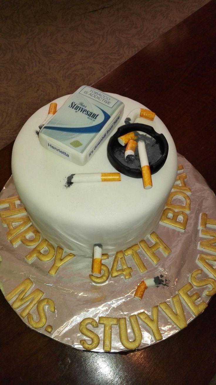 Fun cigarette Cake 😂