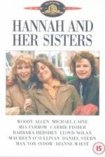 Hannah and Her Sisters: Between two Thanksgivings, Hannah's husband falls in love with her sister Lee, while her hypochondriac ex-husband rekindles his relationship with her sister Holly.   Woody Allen, Mia Farrow, Michael Cain, Carrie Fisher, Barbara Hershey,  Julia Louis-Dreyfus....wonderful story of redeeming love.