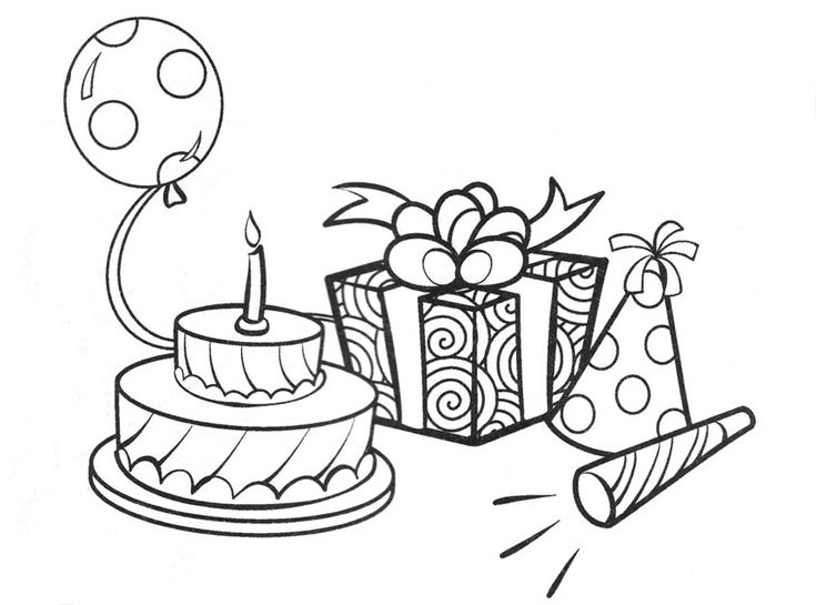 birthday coloring animals happy birthday balloons coloring pages birthday coloring