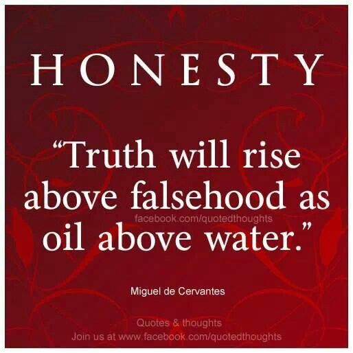 a view on truth honesty and lying Following are the quotes about truth, lies and being honest quotes: home quotations lies quotes powerful truth and lies quotes – honesty powerful truth and.