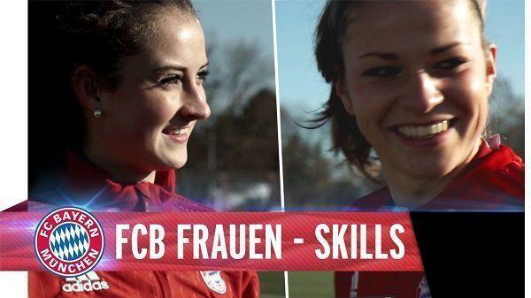 Świetne umiejętności piłkarek Bayernu Monachium • Leupolz i Dabritz wykonują niesamowite triki piłkarskie • Wejdź i zobacz film >> #bayern #bayernmunich #football #soccer #sports #pilkanozna