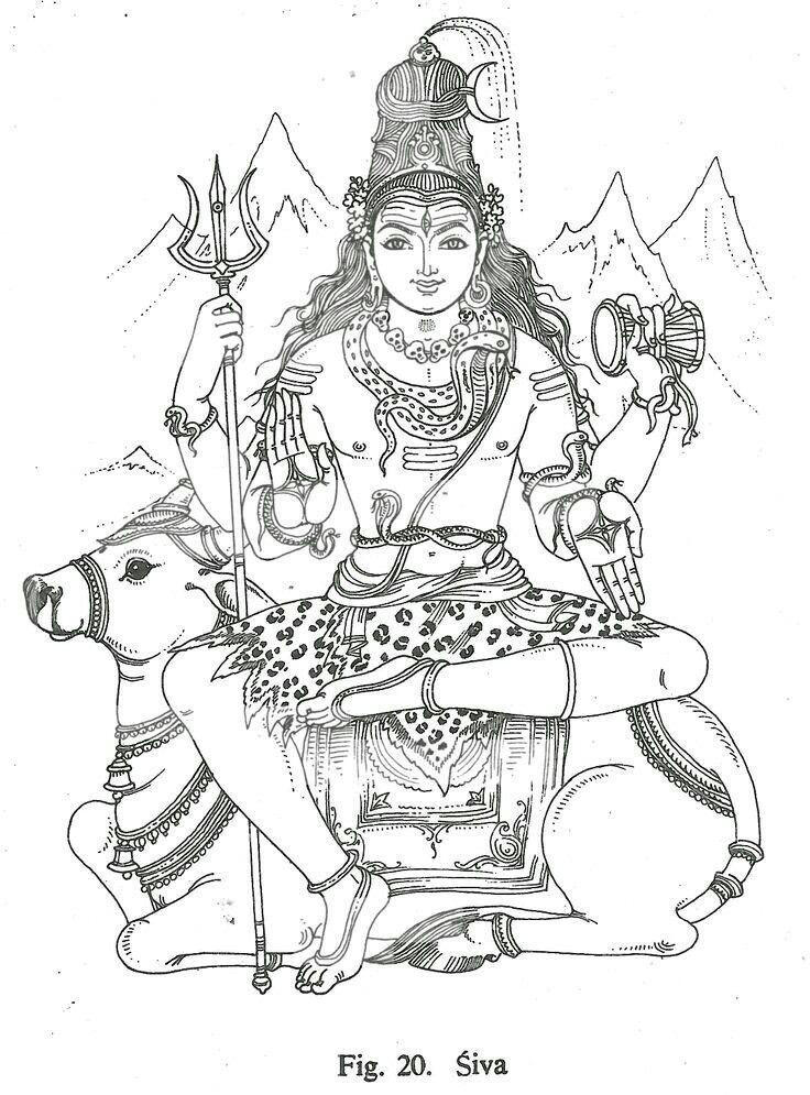 Les 49 meilleures images du tableau Hindu Gods Coloring