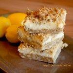Oatmeal Lemon Crème Bars - Life Currents