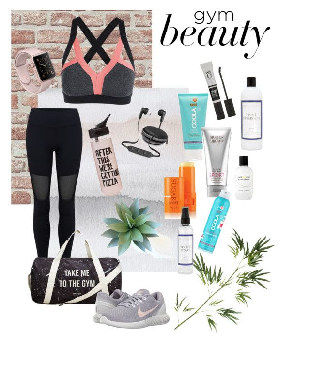 """""""After Workout"""" by kawaiitimemachine on Polyvore featuring WALL, Varley, COOLA Suncare, iWorld, MANGO, ban.do, NIKE, Eyeko, The Laundress and Pier 1 Imports"""