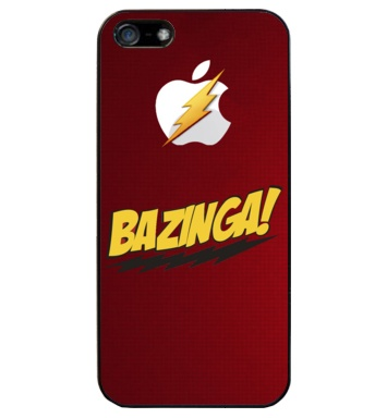 Funda iPhone bazinga Iphone