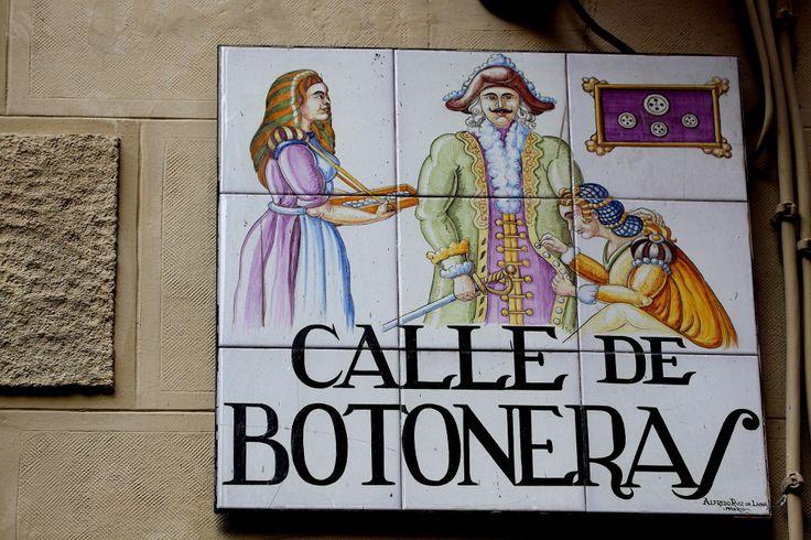 Calle de Botoneras ( Madrid )