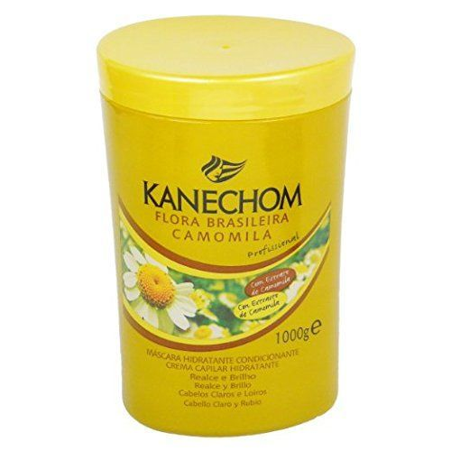 Kanechom Hair Treatment Chamomile | Camomila | Manzanilla - 1 Kg (35.2 Fl Oz) * You can find more details by visiting the image link.