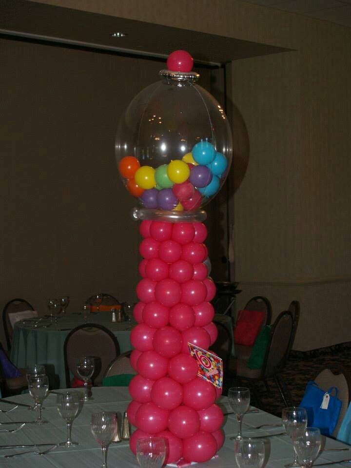 92 best candyland ice cream and cupcakes images on for Balloon decoration machine