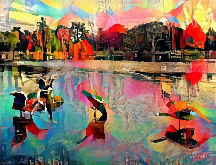 Gooses in Trentham Garden #artwork