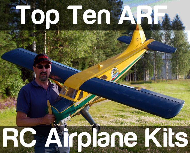 RC Airplane Kits ARF - Top Five List