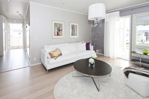 Pohjolan Design Talo  Olohuone  Asuntomessut