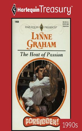Lynne Graham - The Heat of Passion / #awordfromJoJo #ContemporaryRomance #LynneGraham