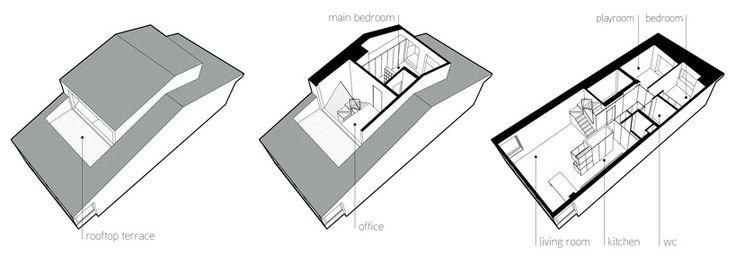 227 Flat (006) - OODA: Flats 006, Architecture Representative, Storey Flats, 227 Flats, En Architecture, Architecture, Architecture Visual, Friday Offices, Ooda