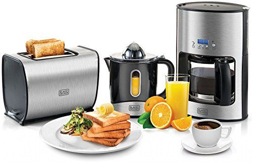 Black & Decker Toaster ,Coffee Machine and Citrus Juicer - BFS100 - http://amzn.to/2o8HQMG