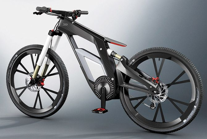 The Audi e-Bike is the fastest electric bicycle is the fastest of its kind we've ever seen.