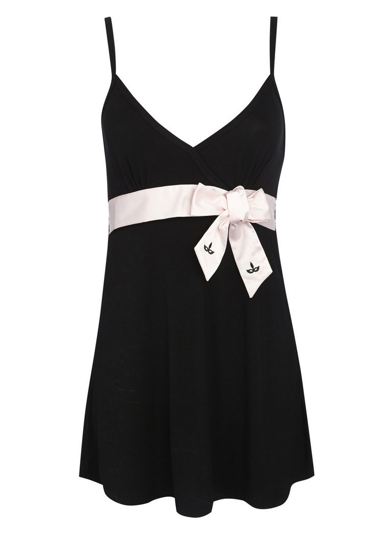 Fifty Shades of Grey Satin Bow Chemise - £18.00