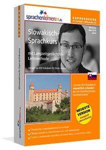 Slowakisch-Expresskurs: Slowakisch-Vokabeltrainer für Ihren Urlaub in der Slowakei mit Reiseführer
