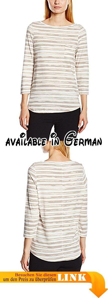 Cartoon Damen T-Shirt 8532/7210, Gr. 38, Mehrfarbig (Rock Ridge 9112/ Grey and Wgite Striped). Ein weicher Jersey aus reiner Baumwolle verleiht dem T-Shirt mit Streifen-Dessin eine legere Note. Ein Rundhals-Ausschnitt setzt einen femininen Akzent #Apparel #SHIRT