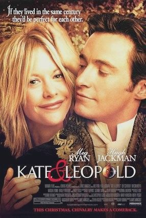 Kate & Leopold is a 2001 romantic-comedy fantasy that tells a story of a duke who travels through time from New York in 1876 to the present and falls in love with a career woman in modern New York. The film is directed by James Mangold and stars Meg Ryan, Hugh Jackman and Liev Schreiber.