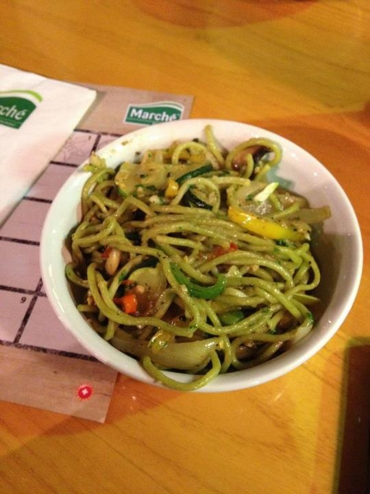 vegetable aglio olio