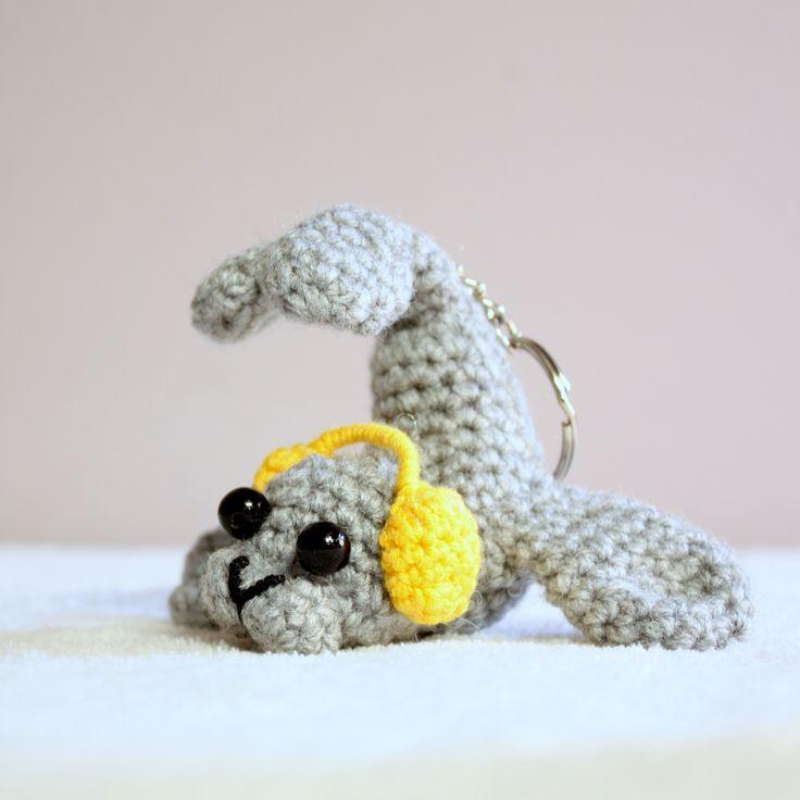 Amigurumi foka  #amigurumis #amigurumi #crochet #seal  #little #musicseal #crazy #szydełkowa #foka #see #animal #keychain #