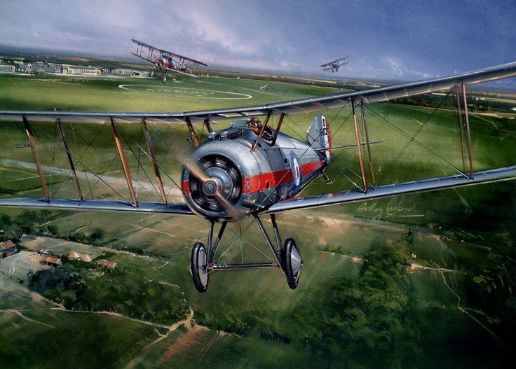 Sopwith Snipe (Wisps of Silver)