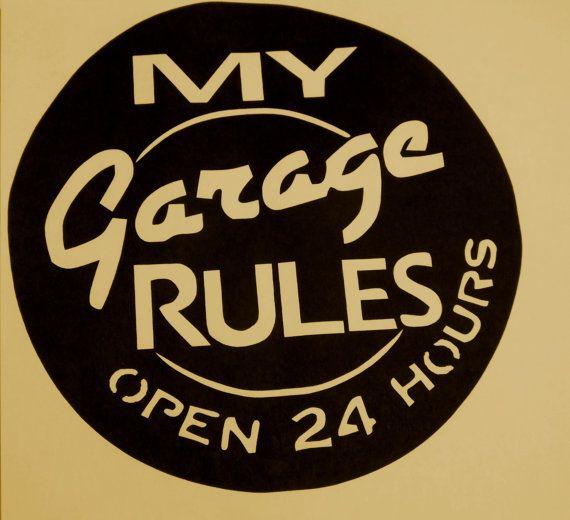 Garage Signs For Men : The best garage signs ideas on pinterest man cave