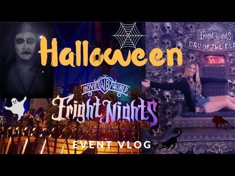 Halloween Fright Nights | Movie World Event Vlog