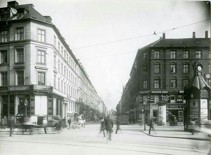 Hjørnet af Gasværksvej og Vesterbros Torv 1910