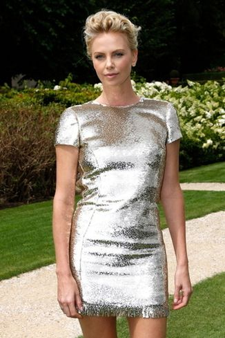 Charlize Theron at Dior Haute Couture 2015