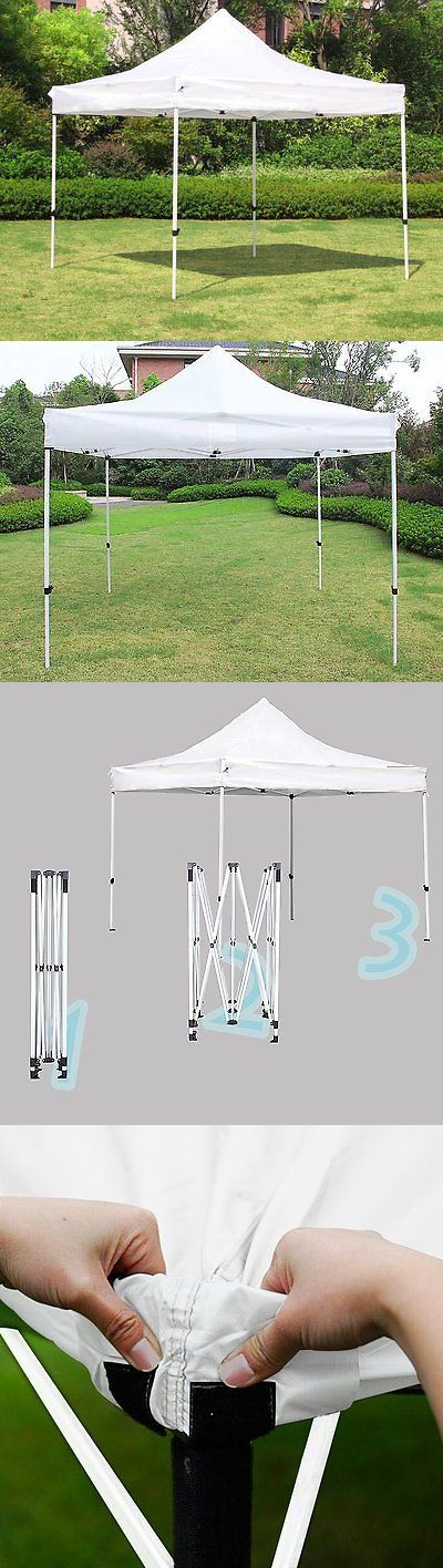 Gazebos 180995: Outdoor Garden Gazebo Portable Shade Folding Canopy Tent 10 X 10 Ft Waterproof -> BUY IT NOW ONLY: $79.99 on eBay!