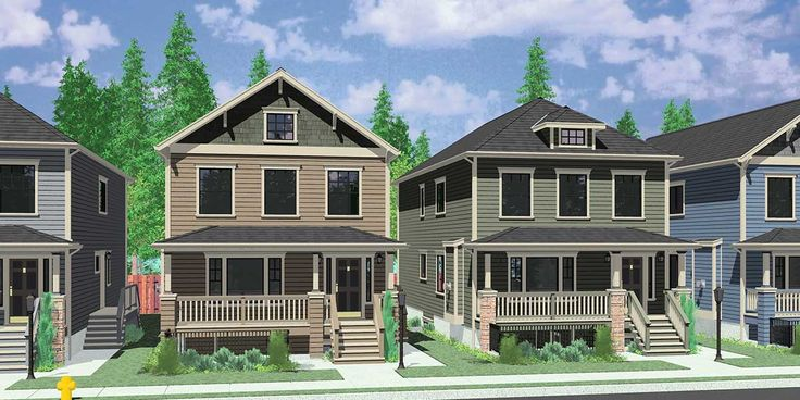 Narrow Lot And Has A Basement Apartment!!!