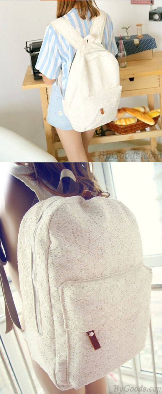 Fashion Sweet Floral Lace Backpack for big sale ! #sweet #floral #lace #backpack #bag