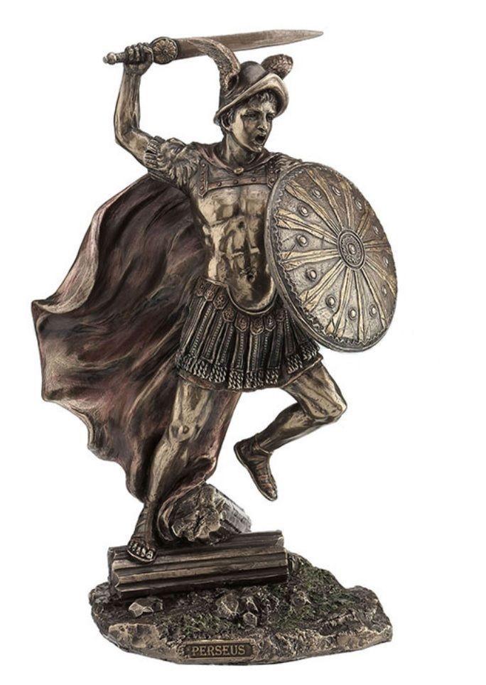 "Decorative Statues For Living Room India: 10"" Perseus Statue Sculpture Figurine Greek Roman Myth"