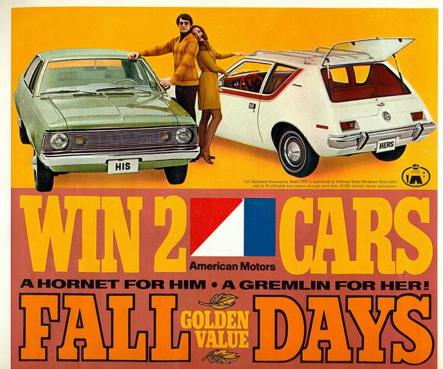 1971 American Motors Hornet and Gremlin