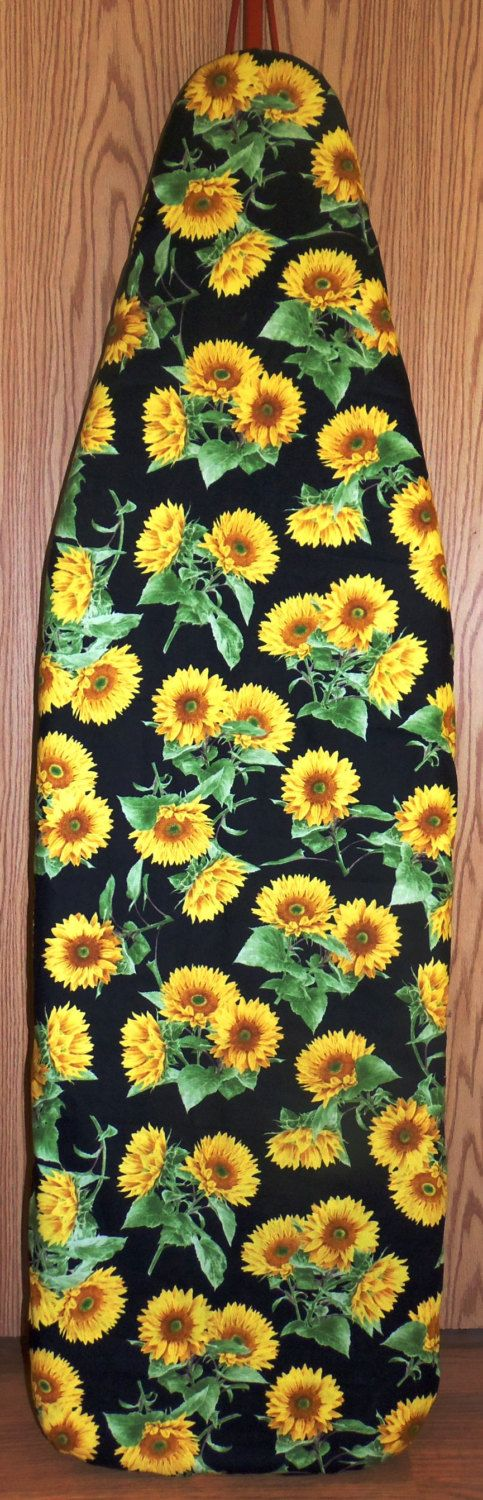 Sunflowers  Farmhouse Ironing board cover by Farmhouseclassic