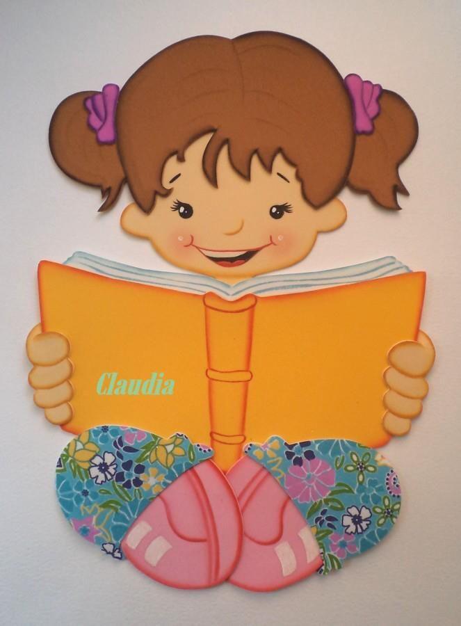 Niña leyendo http://manualidadesamigas.foroargentina.net/