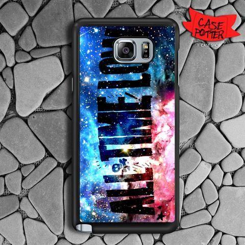 All Time Low Galaxy Nebula Samsung Galaxy Note 5 Black Case