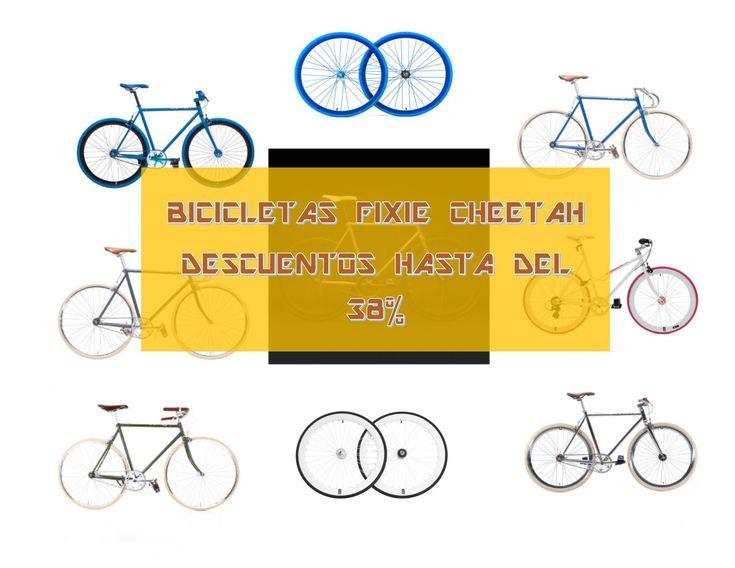 Ofertas bicicletas Fixie Cheetah. Rebajas de hasta el 38%