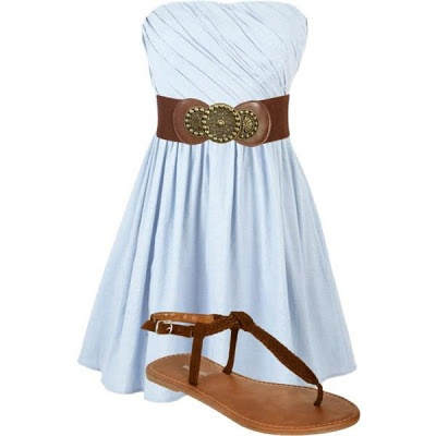 LOLO Moda: Pretty women dresses - summer 2013. Would be perfect with a little denim jacket for chilly summer evenings
