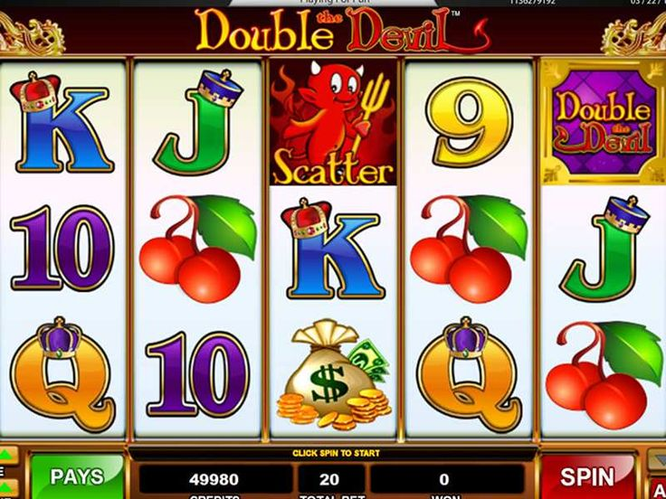 Ways to Win Double the Devil  Double the Devil slot machine game contains about 10 different symbols including all the bonus symbols. http://free-slots-no-download.com/classic/9113-double-the-devil/