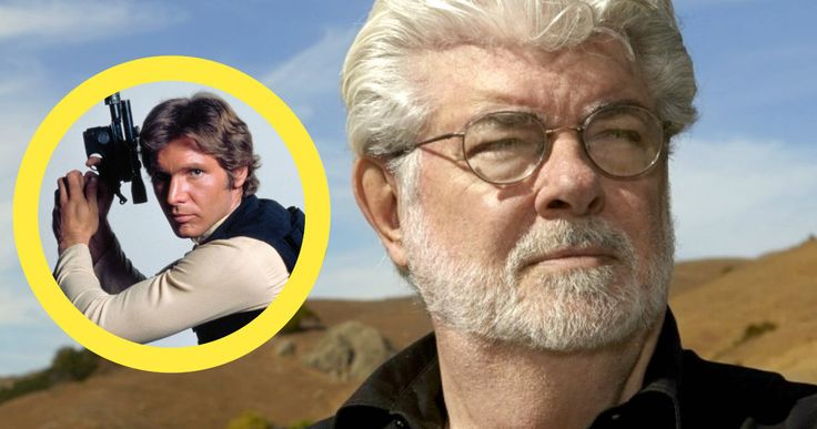 George Lucas Gives Definitive Answer to Why Han Didn't Shoot First -- 'Star Wars' franchise creator George Lucas reflects on tweaking the iconic scene where Han Solo shot first, the prequel trilogy and much more. -- http://movieweb.com/star-wars-george-lucas-han-solo-shoots-first/