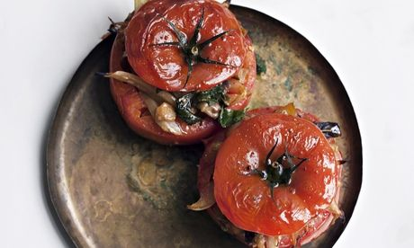 Nigel Slater's tomatoes with fennel and aubergine recipe  Fat beefsteak tomatoes stuffed with a nod to the flavours of Provence – a light meal in itself or to be served as an accompaniment