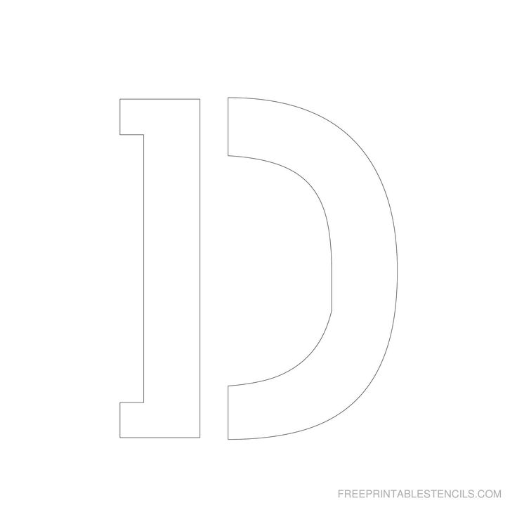 Inch Alphabet Letter Templates on for tracing, free printable large, for kids, medium printable,