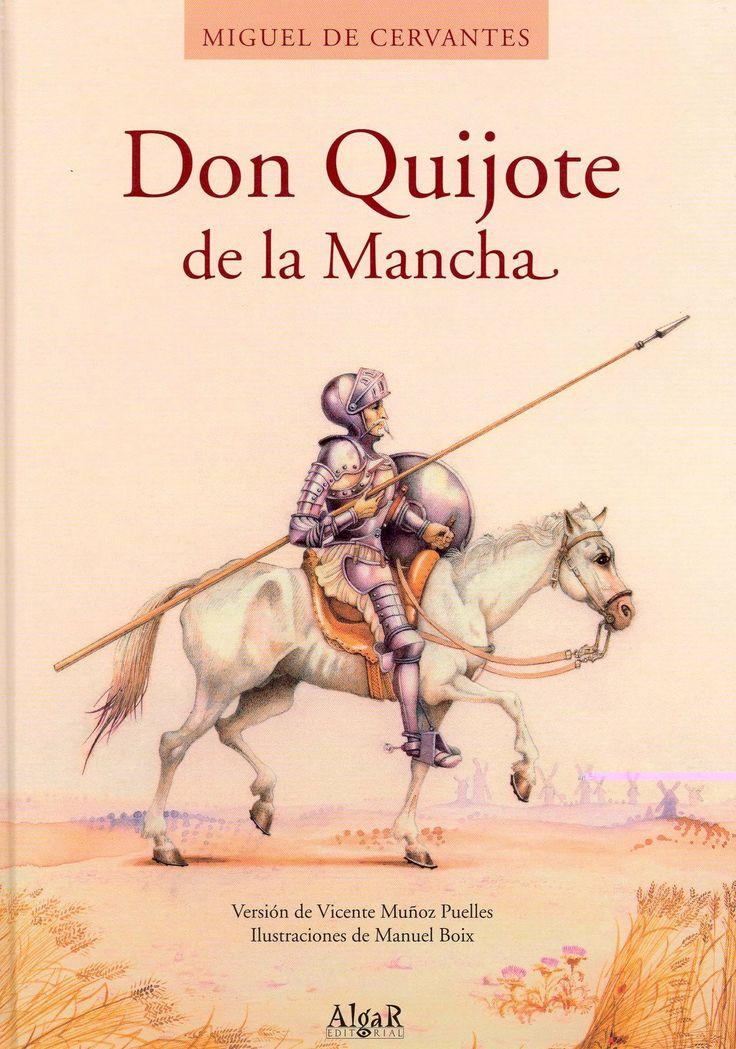 Don Quijote de la Mancha es el libro Ana es lee en el clase de español. Ella pensaba el libro es muy difícil porque es en espoñol.