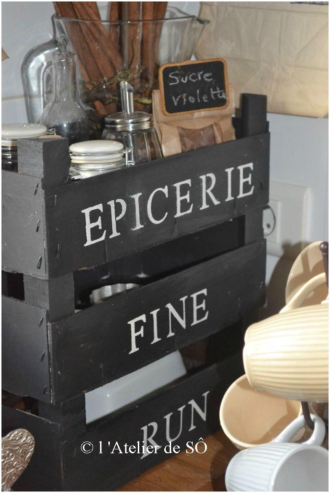 r cup cagettes pour rangement cuisine cuisine pinterest tes ps et cageots. Black Bedroom Furniture Sets. Home Design Ideas